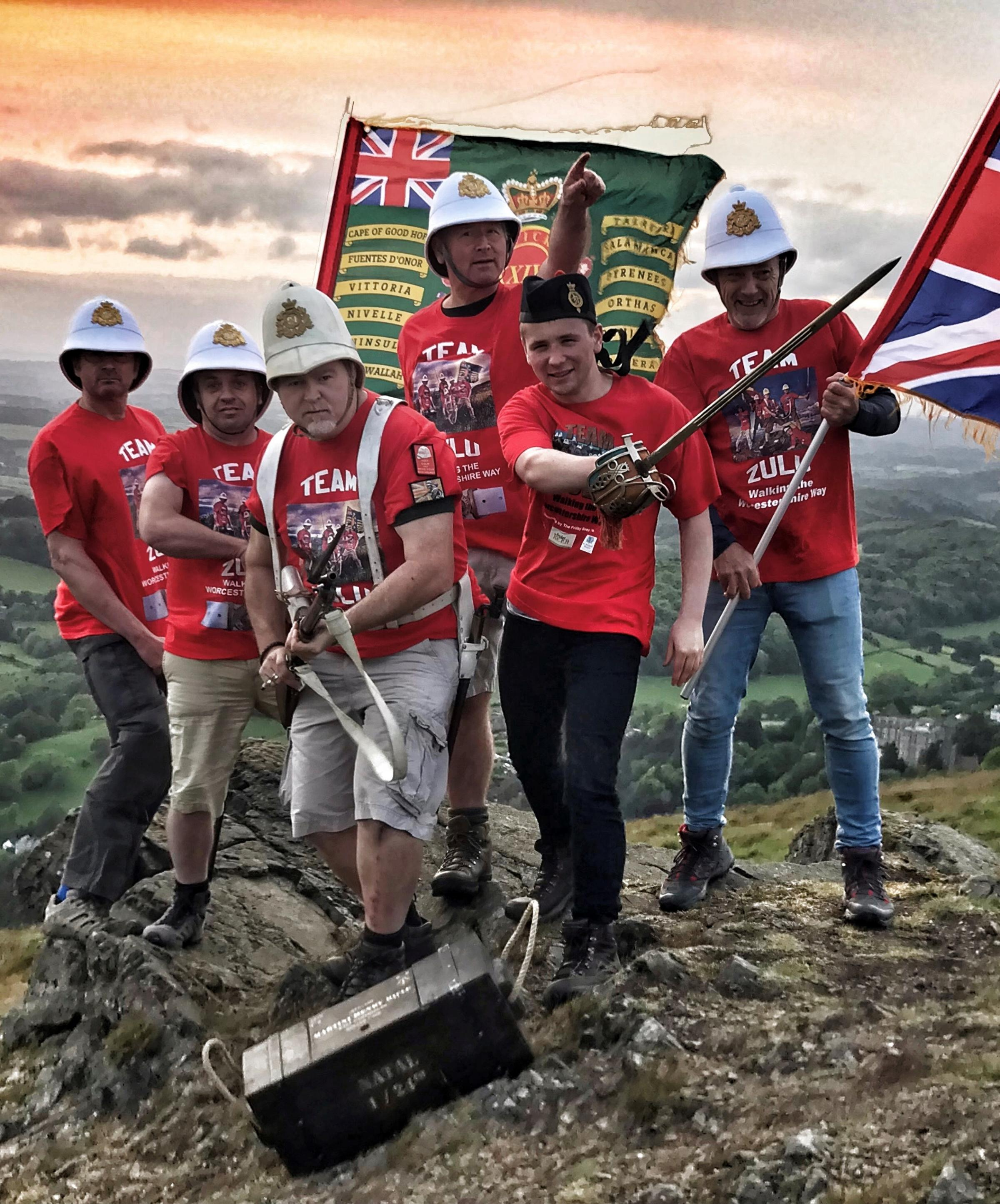 Team Zulu returns to tackle the Worcestershire Way for ninth time