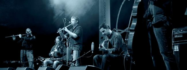 ACCLAIMED: Lunasa in action, showing why the albums sell