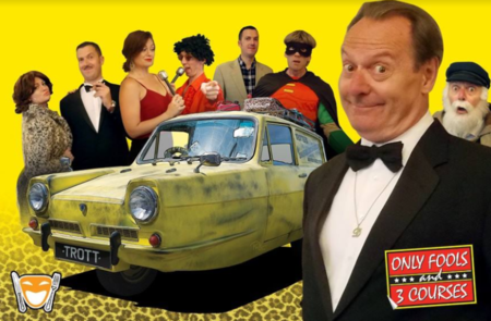 Only Fools and 3 Courses - Jonathan's in the Park 7th September