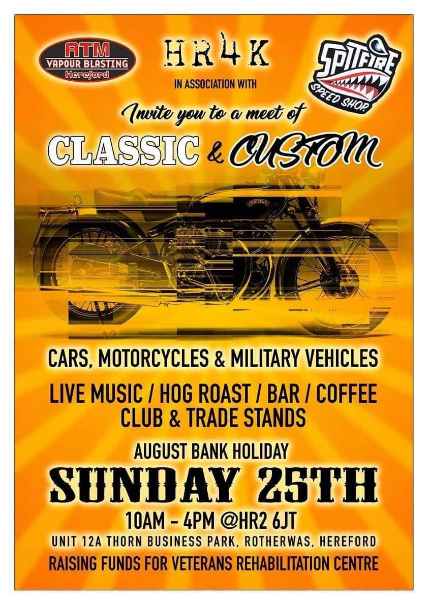 HR4K Classic and Custom Car, Motorcycle and Military Vehicle Show