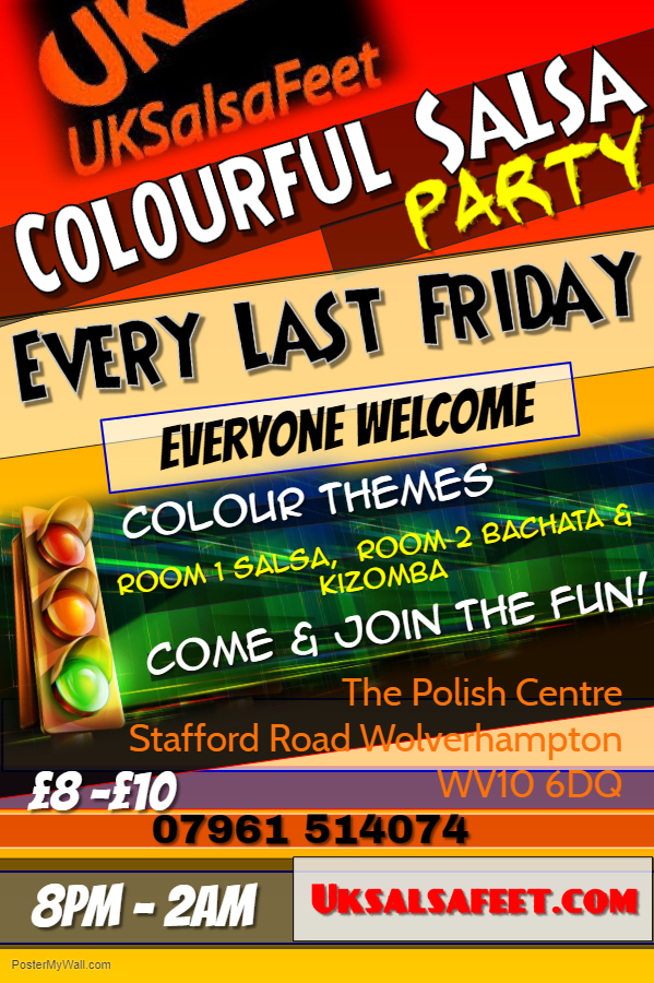 Colourful Salsa 2 Room Party