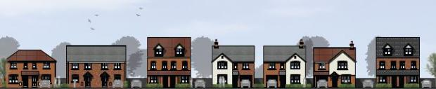 Worcester News: How the new homes will look. Images courtesy of Persimmon Homes