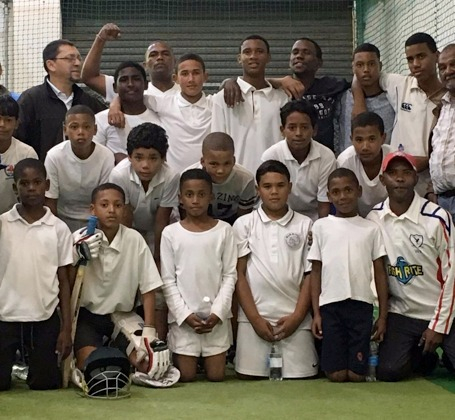 World Cup winner Moeen Ali supports deprived youngsters from South Africa