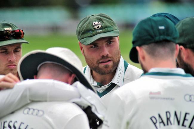 Joe Leach talks to his players