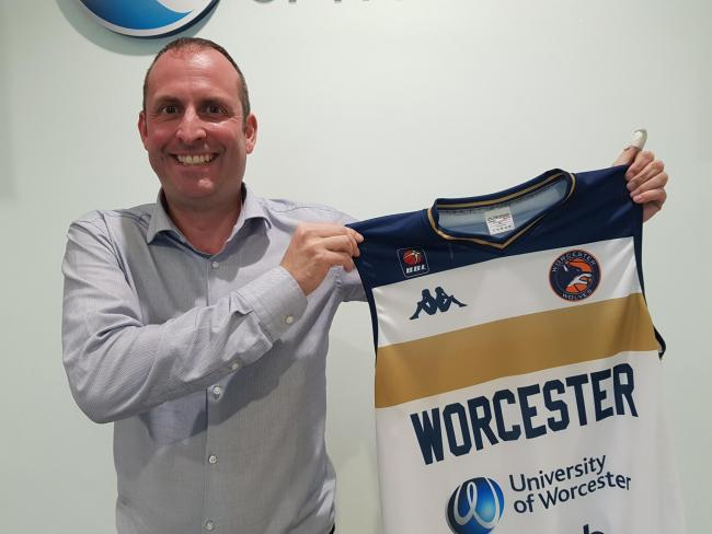 Matt Newby has been appointed head coach. Picture: Worcester Wolves