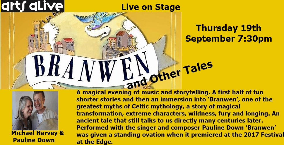 Live on Stage: Branwen & Other Tales
