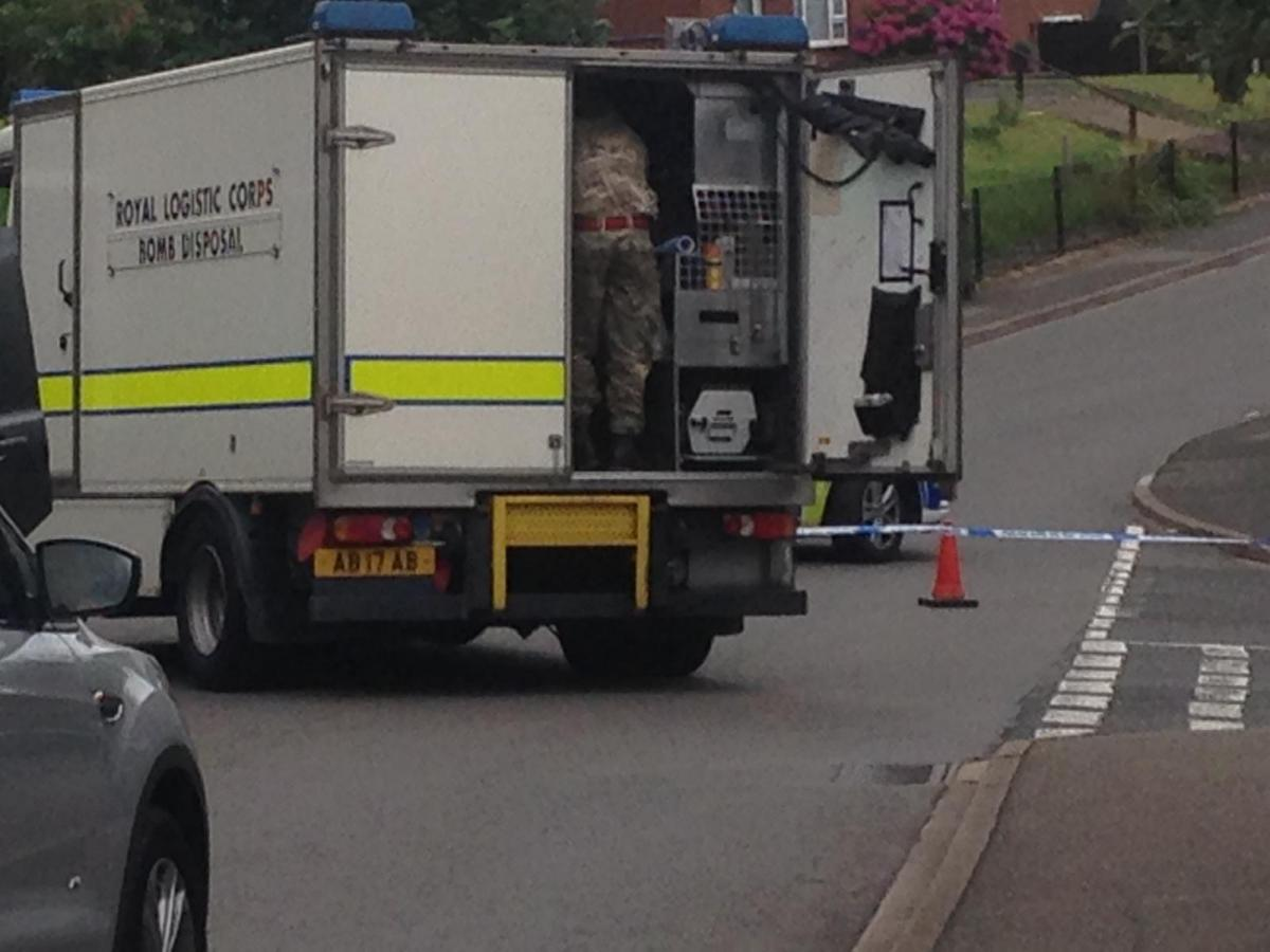 Residents evacuated as bomb squad called to Troutbeck Drive