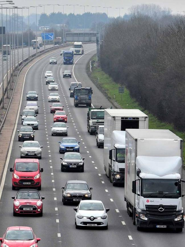 MOTORWAY: Stretch of M5 near Worcester