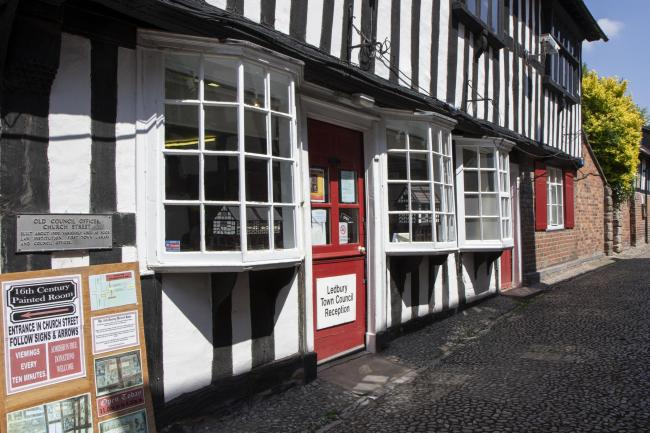 Ledbury Town Council's offices in Church Lane