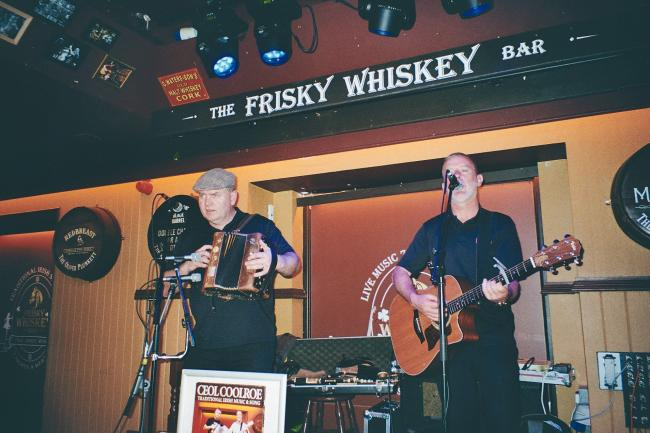 The music never stops at the Frisky Whiskey...