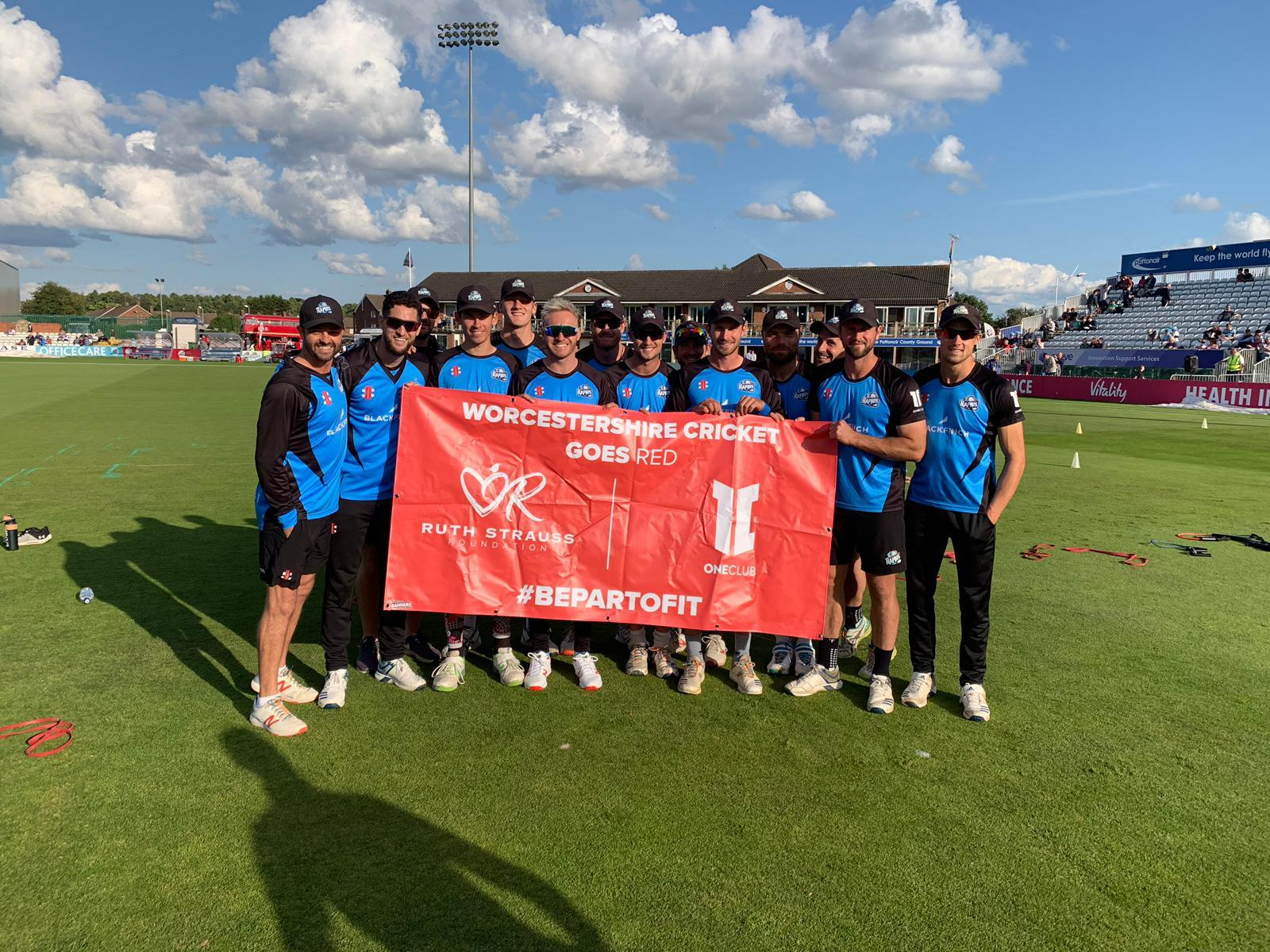 Cricket clubs turn red to support Ruth Strauss foundation