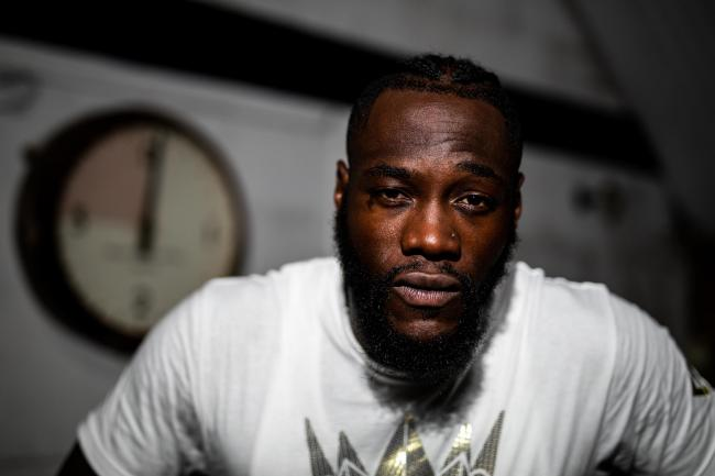 Deontay Wilder opened a restaurant in Batley on Thursday evening