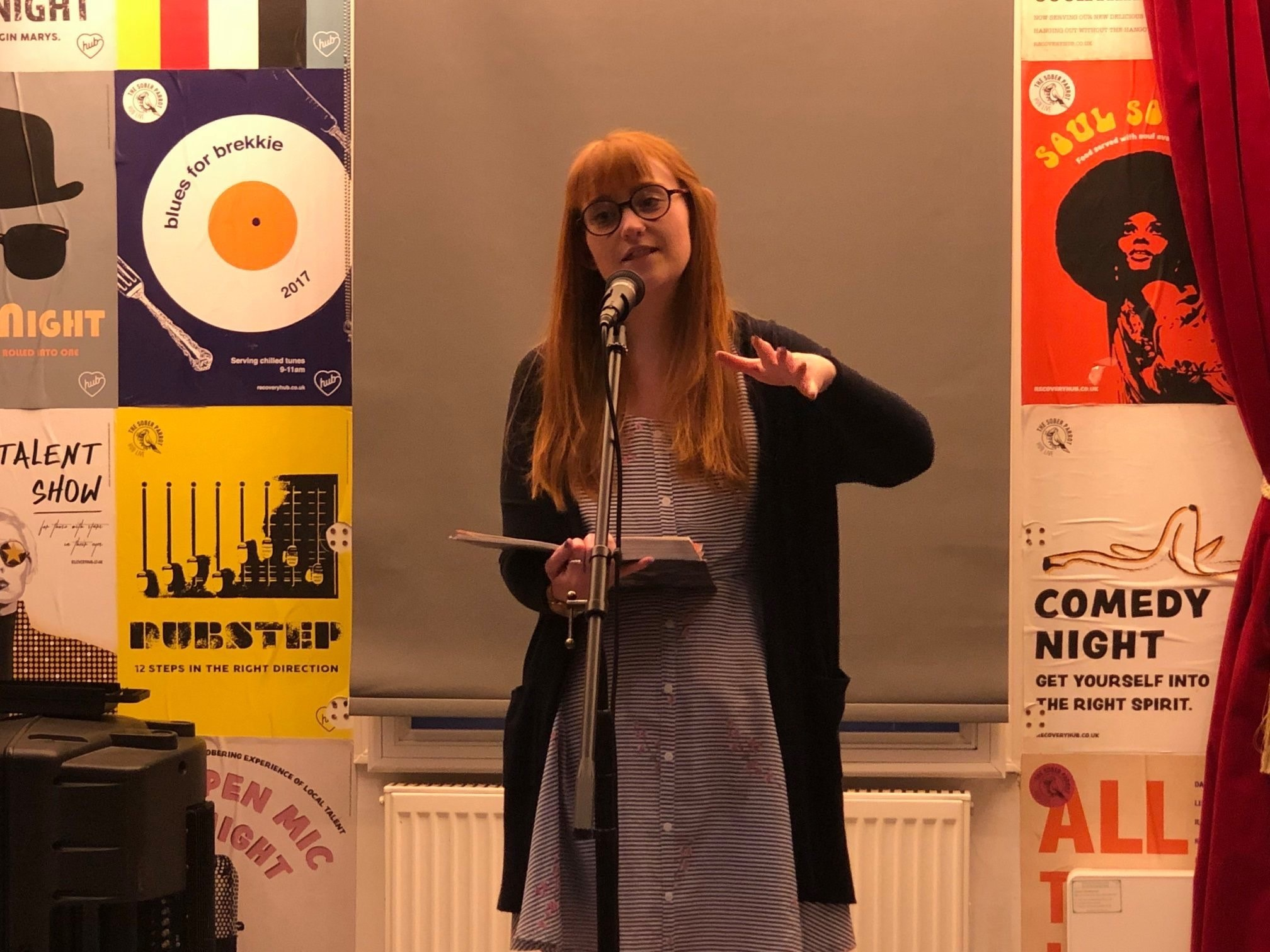 Poets share work at Worcester's monthly Dear Listener event