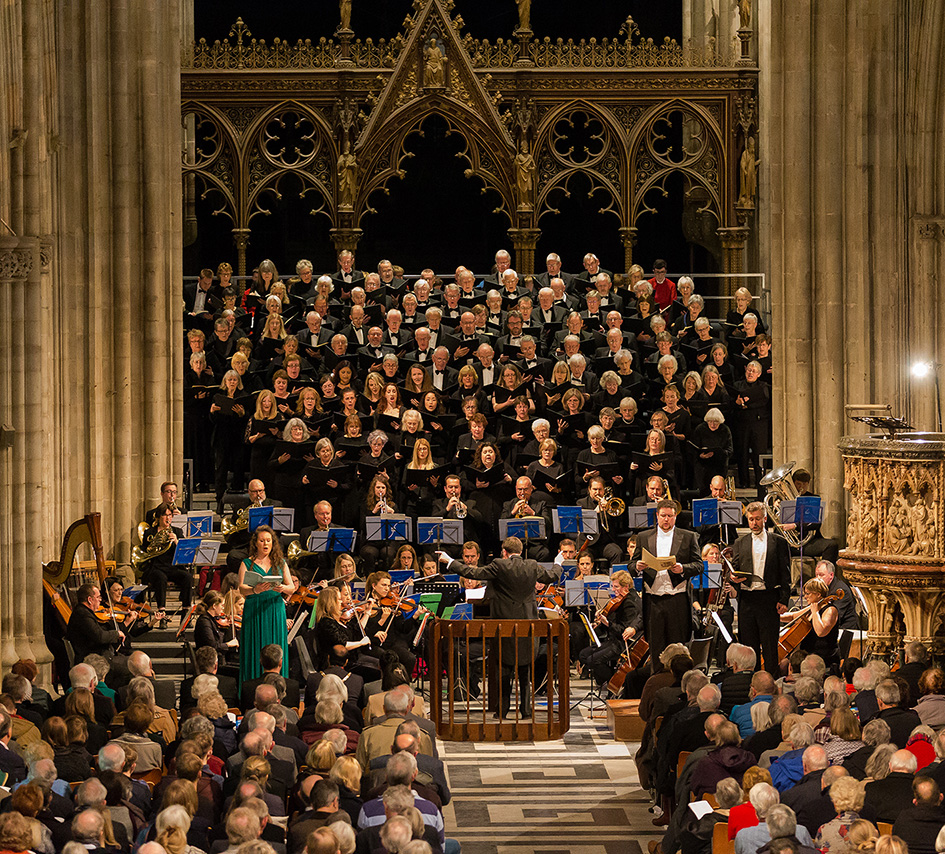 Mozart: Requiem - Worcester Festival Choral Society in Worcester Cathedral
