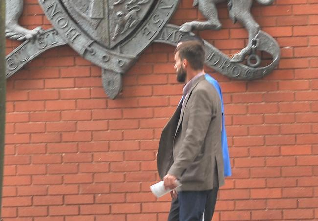GUILTY: Wesley Bates. Pic. Swindon Advertiser