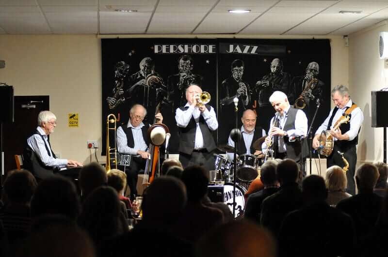 Pershore Jazz Club - Savannah Jazz Band