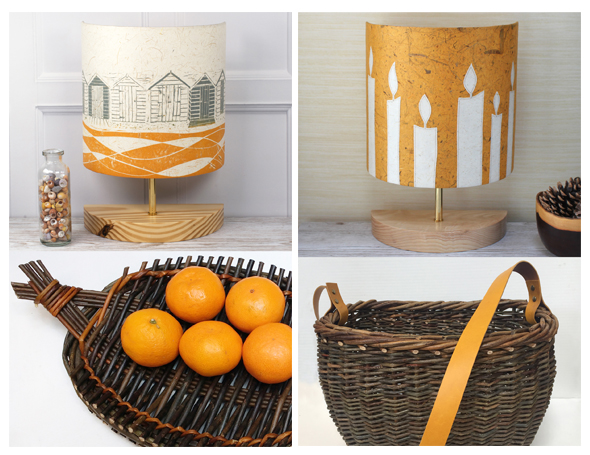 Lampshades and Baskets Open Studio for h.Art