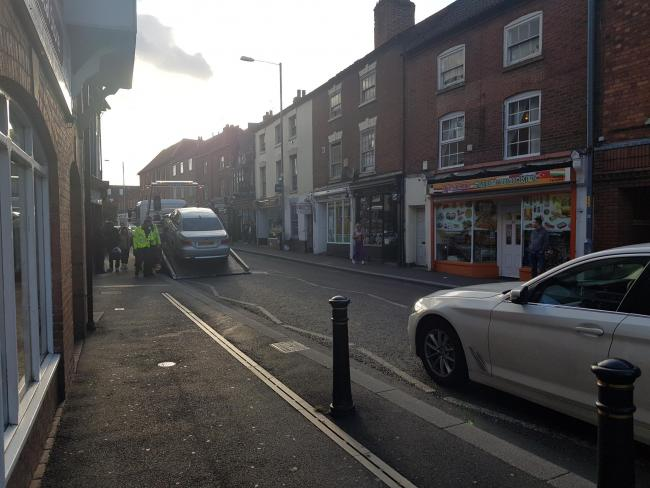 Woman hit by car' in Lowesmoor | Worcester News