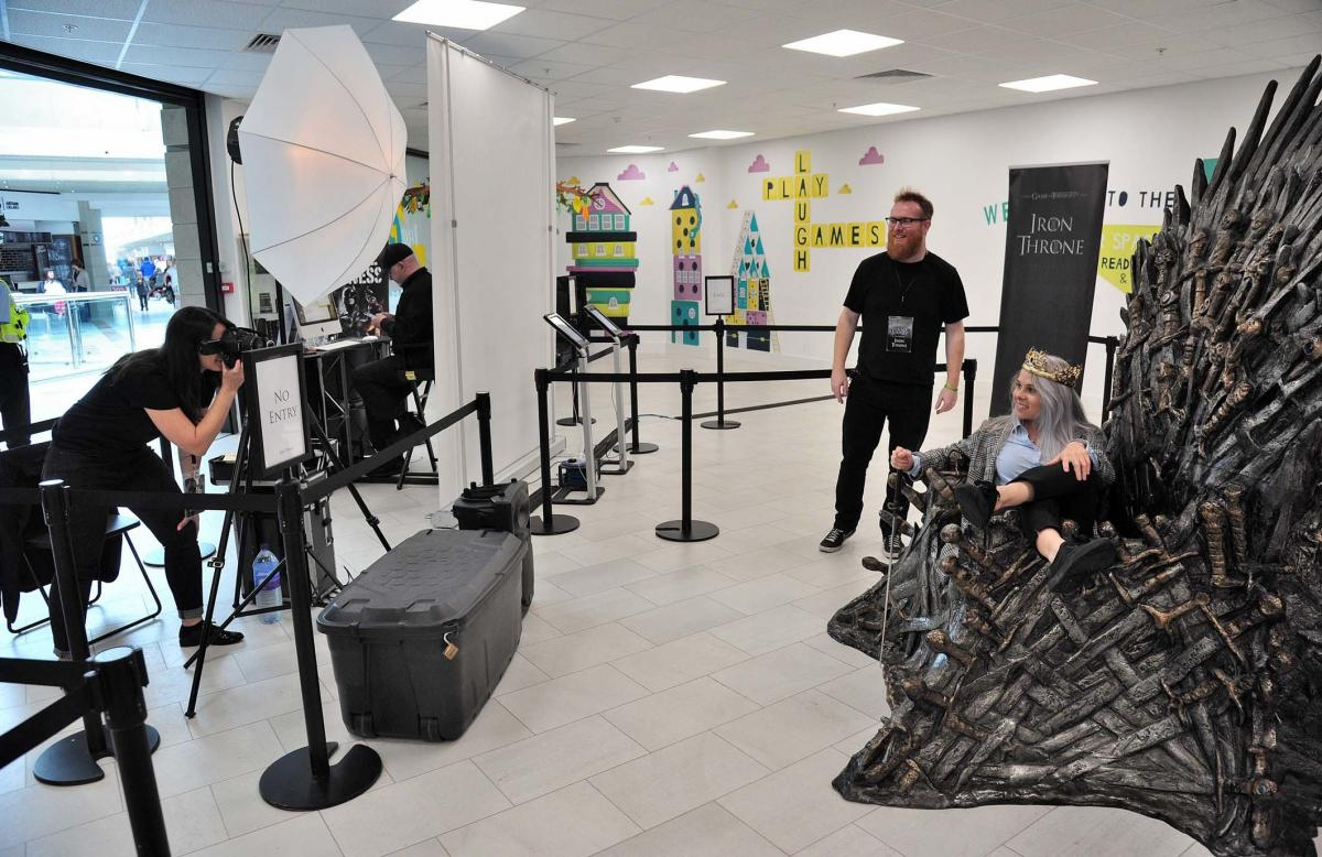 Game of Thrones: fans enjoy throne thrill at Worcester