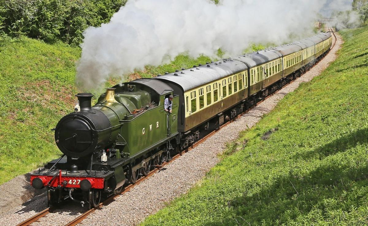 Steam locos celebrate 'birthdays' at Cotswold heritage