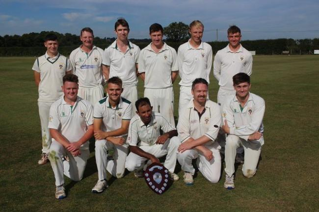 Worcestershire League Division One champions Bromyard. Picture: Twitter @BromyardCC