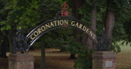 The assualt happened at Coronation Gardens. Image: Google Maps.