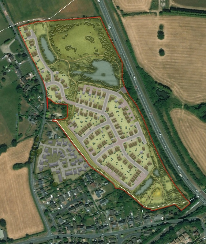 Anger over plan to build 120 homes in Rushwick near Worcester