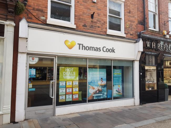 CLOSED: The Thomas Cook branch in Worcester