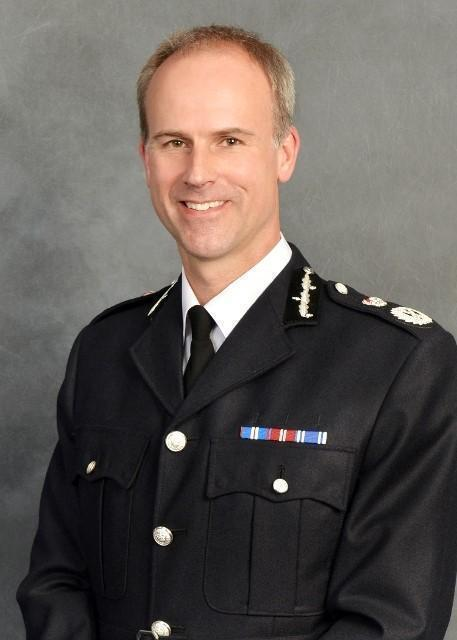 West Mercia Police Chief Constable Anthony Bangham