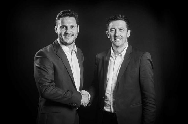 MERGER: George Roberts and Piers Mepsted, who head Financial Advice Centre Ltd and Sterling Rock that have merged