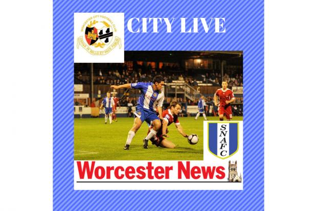 LIVE: South Normanton Athletic v Worcester City