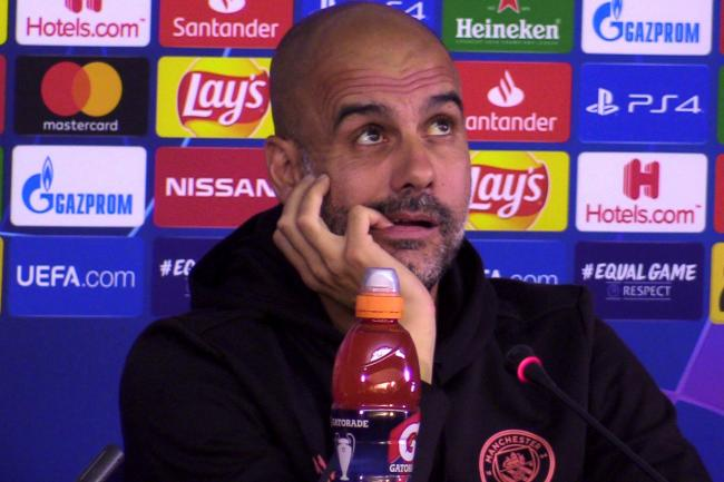 Manchester City boss Pep Guardiola has not won the Champions League since he was manager of Barcelona