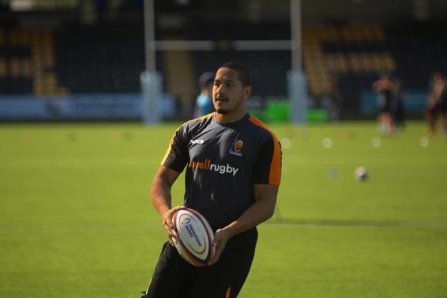 Ed Fidow is back in training with Warriors. Picture: WORCESTER WARRIORS