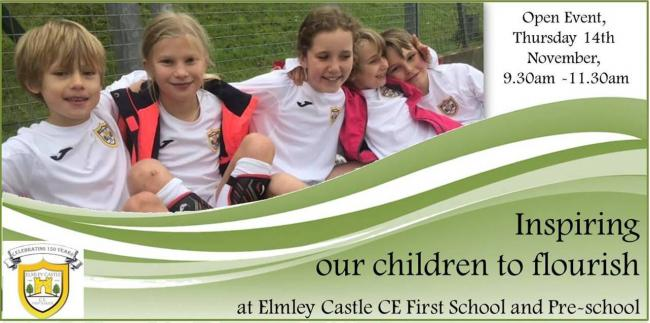 Children at Elmley Castle CE First School and Pre-School
