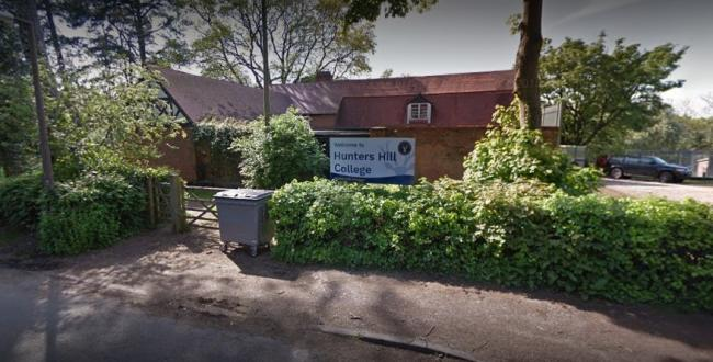 Crisis-hit Hunters Hill School. Picture: Google Maps.