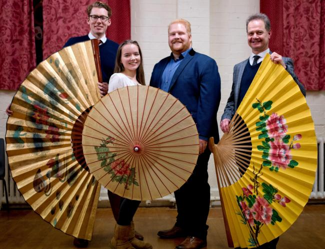 EASTERN PROMISE: With Opera Worcester