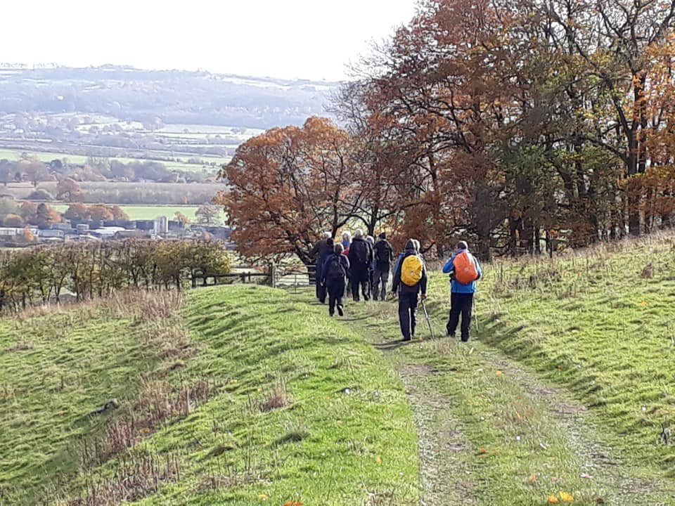 Ebrington & Foxcote walk with Evesham Ramblers