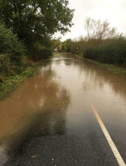 Flooding: The roads closed in Worcestershire on Friday, November 15