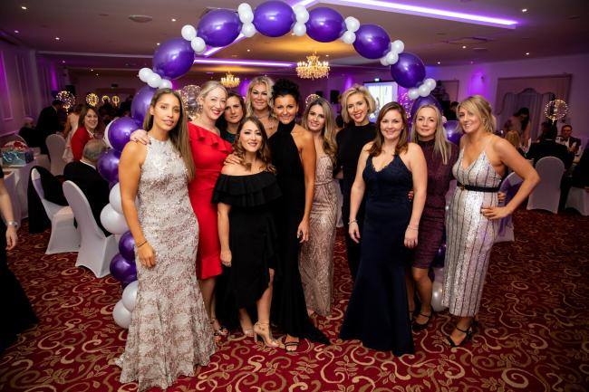 BALL: Guests at the SJL ball, which raised more than £37,000