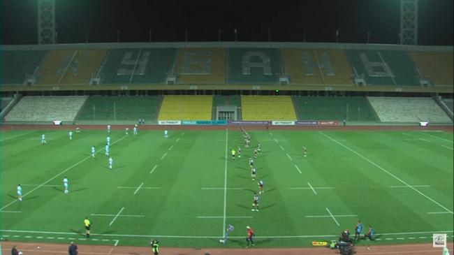 A near-deserted Kuban Stadium ahead of Enisei-STM v Worcester Warriors. Picture: EUROPEAN CHALLENGE CUP