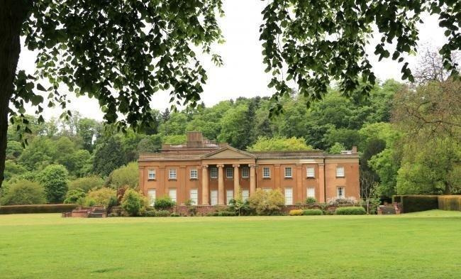 Himley Hall and Park.