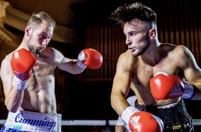 Owen Cooper (right) in action. Picture: BCB PROMOTIONS