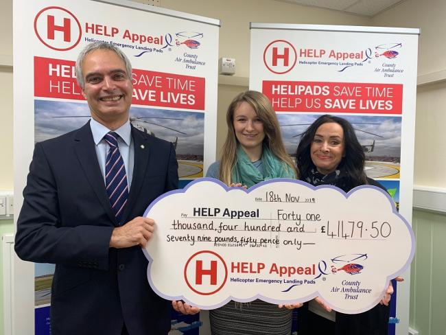 Malvern-based Wills and Legal Services raises £900,000 for air ambulance