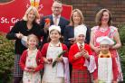 Pupils and staff at St George's RC Primary School in Worcester have created a cookbook