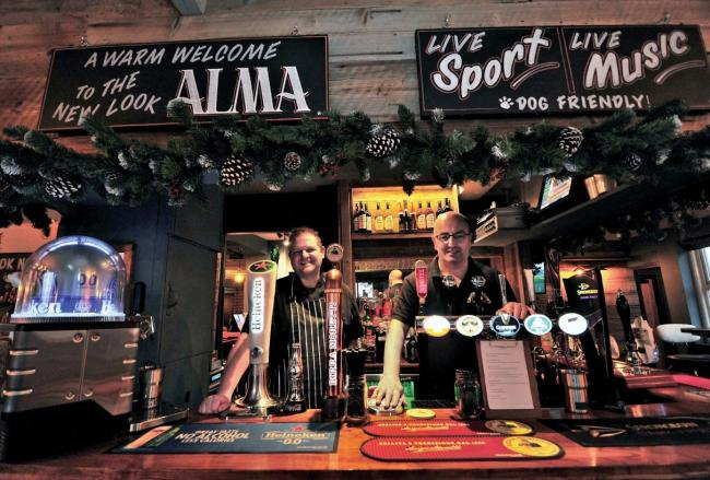 PUB: Jon Dean with Will Bradley from the Alma Tavern