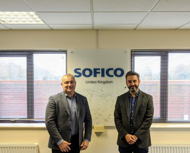 EXPANSION: Gary Woodman, Worcestershire LEP with Roger Smith, Sofico