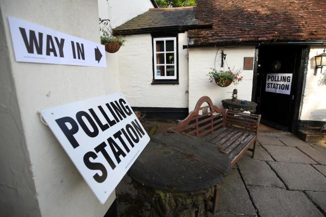 Residents in Bewdley West and Areley Kings West took to the polls on Tuesday. Stock photo by Press Association