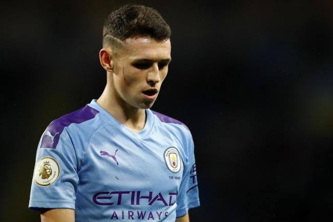 Phil Foden is set for a rare start