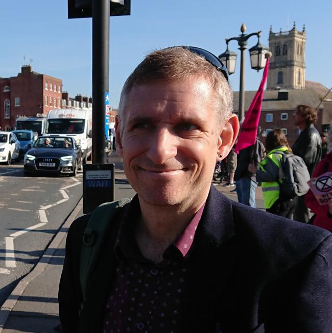 COUNCIL: Cllr Matthew Jenkins