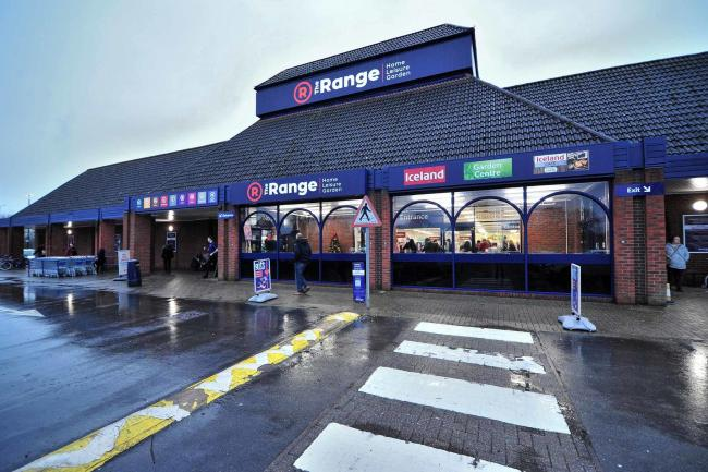 The official opening of The Range on Hylton Road, Worcester
